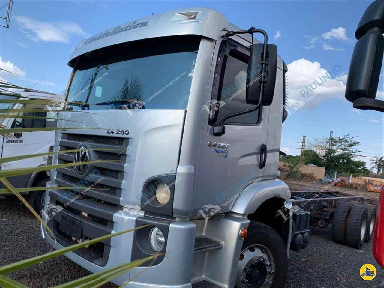 CAMINHAO VOLKSWAGEN VW 24250 Cavalo Mecânico Truck 6x2 Paulinho Caminhões RIO VERDE GOIAS GO